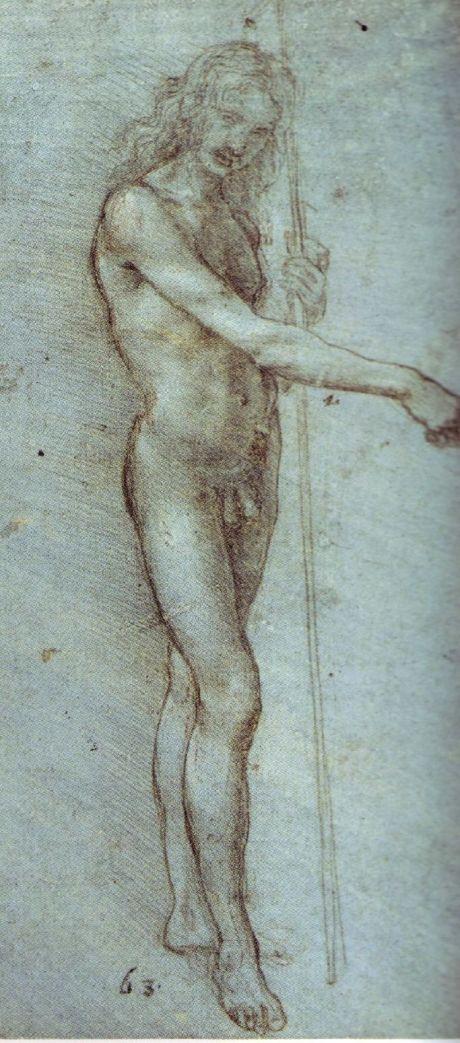 Hombre con bastón(1476-1480)
